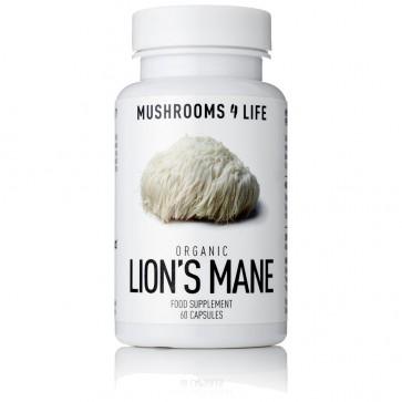 Lion's Mane Hericium erinaceus Capsules