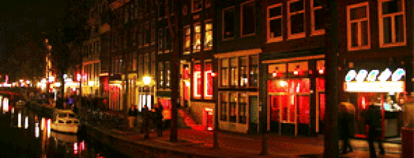 Amsterdam closes 26 coffeeshops in the Red Light district.